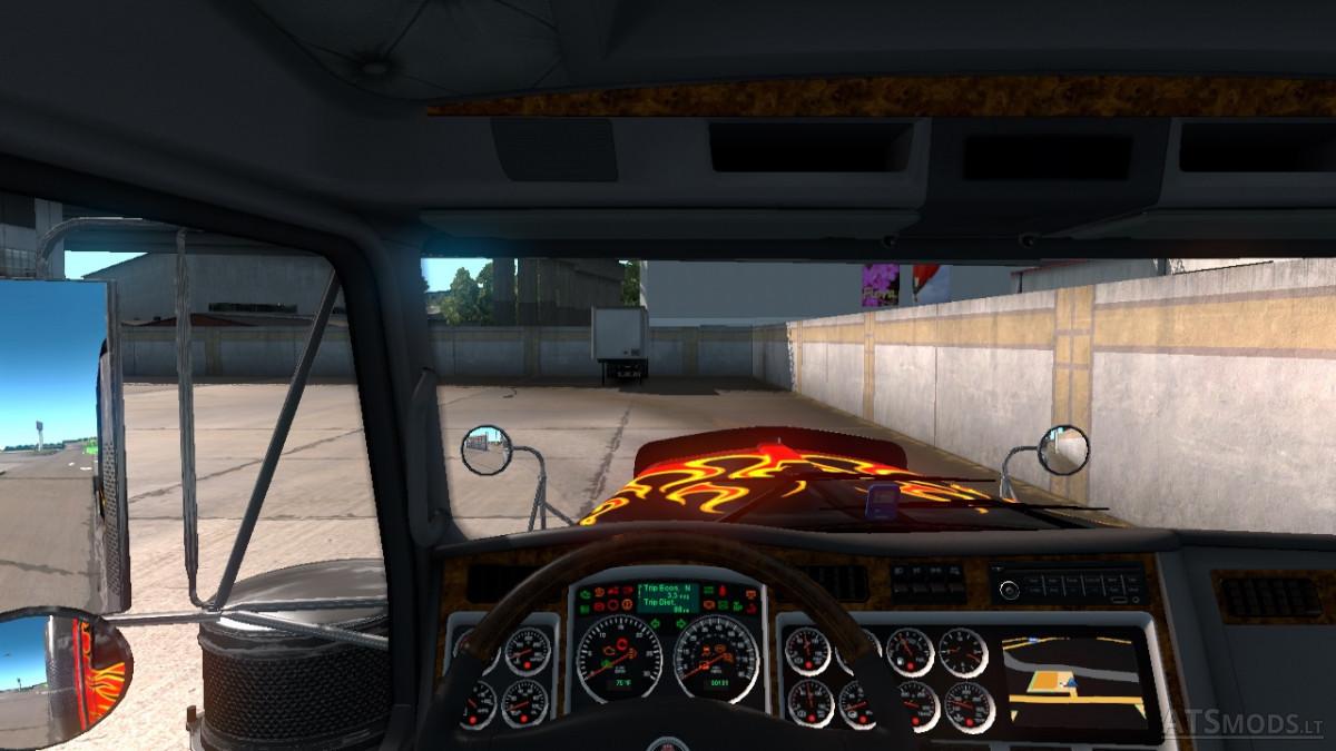 Kenworth W900 Real Interior Startup Sound | American Truck