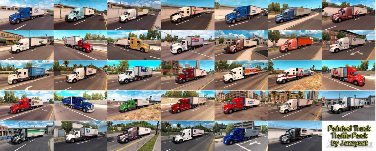 ai traffic pack by jazzycat v 1 3 | American Truck Simulator