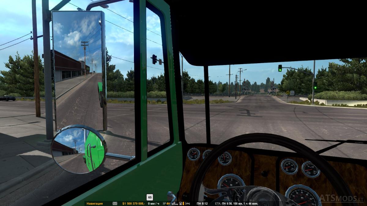 Peterbilt 352 Cabover v 2 0 [1 29] | American Truck Simulator mods