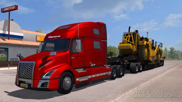 volvo vnl 2018 american truck simulator mods. Black Bedroom Furniture Sets. Home Design Ideas