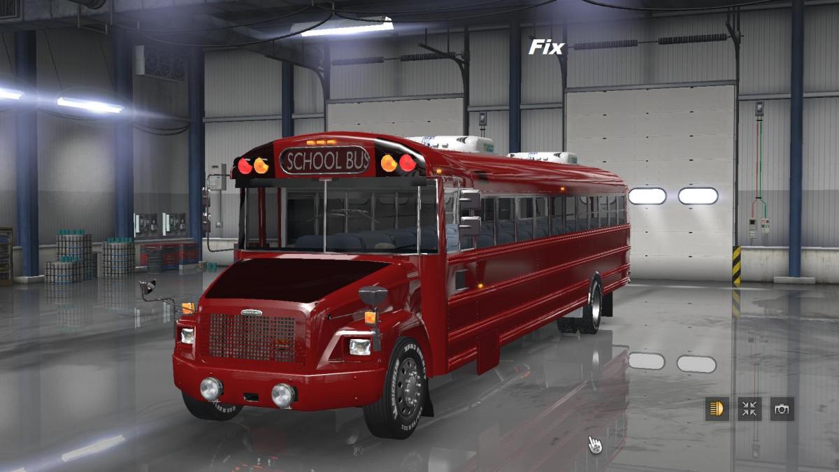 Fix for Freightliner F65 (School Bus) version 1 0   American