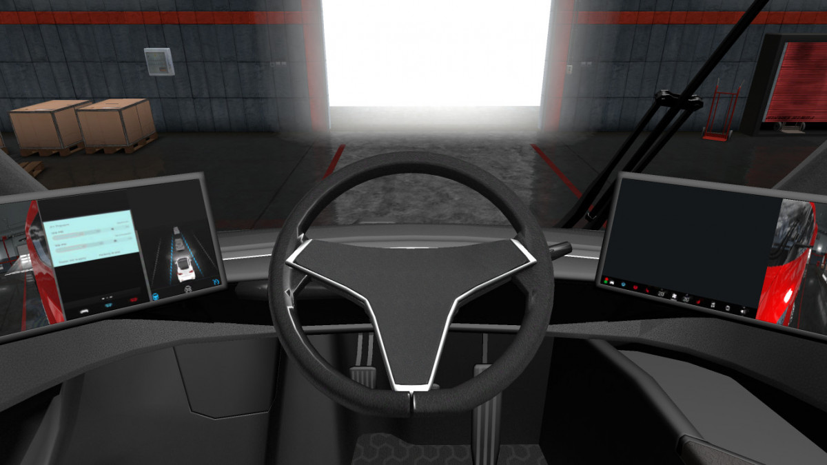 Tesla 2019 >> Tesla Semi Truck with Trailer 2019 (ATS 1.31.x) | American Truck Simulator mods
