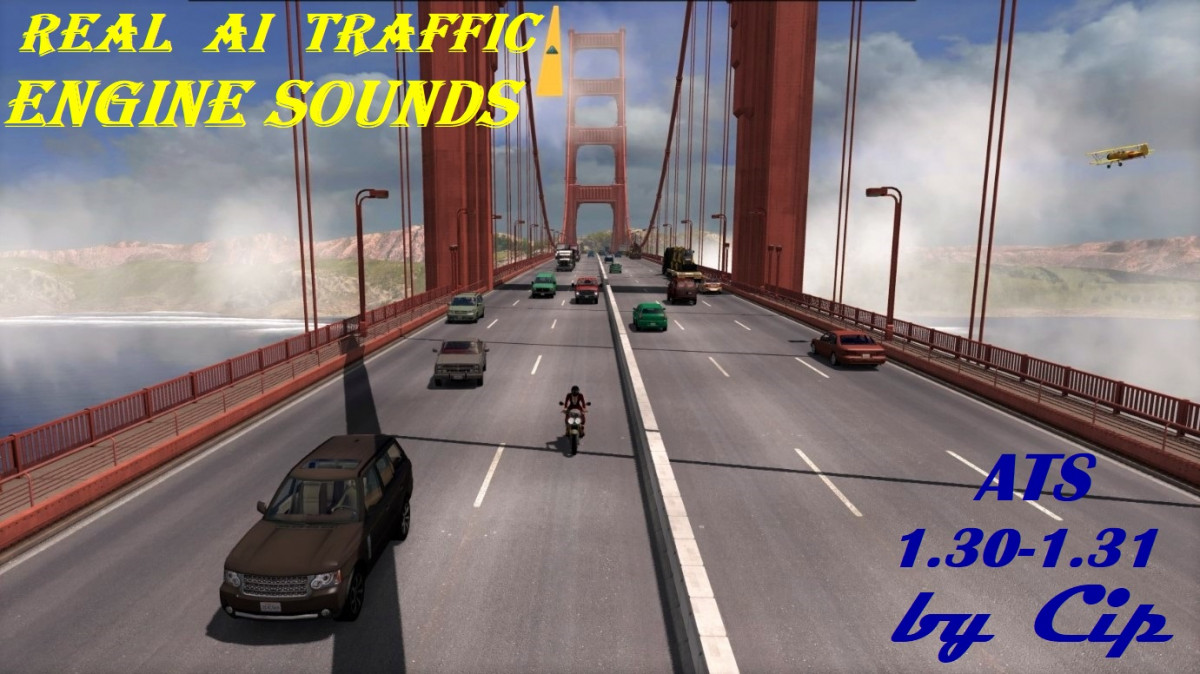 Real Ai Traffic Engine Sounds v1 1 by Cip | American Truck
