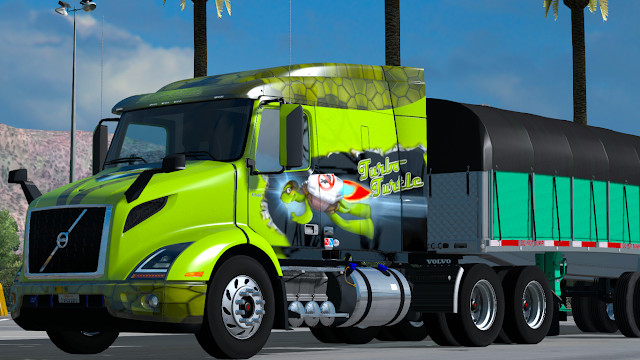 Volvo vnr 2018 131 american truck simulator mods volvo vnr 2018 for ats 131x publicscrutiny Images