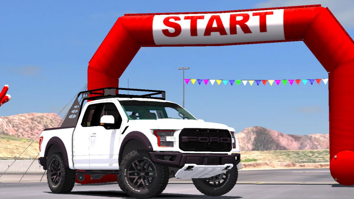 Ford F150 Raptor 2017 ATS | American Truck Simulator mods