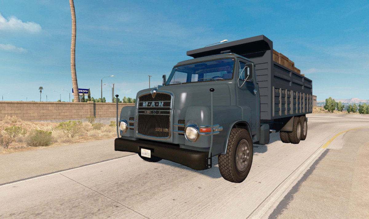 MAN 520 HN for ATS 1 31 | American Truck Simulator mods