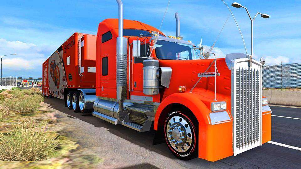 Realistic Graphics Sweet FX Mod v 1 6 YANRED | American Truck