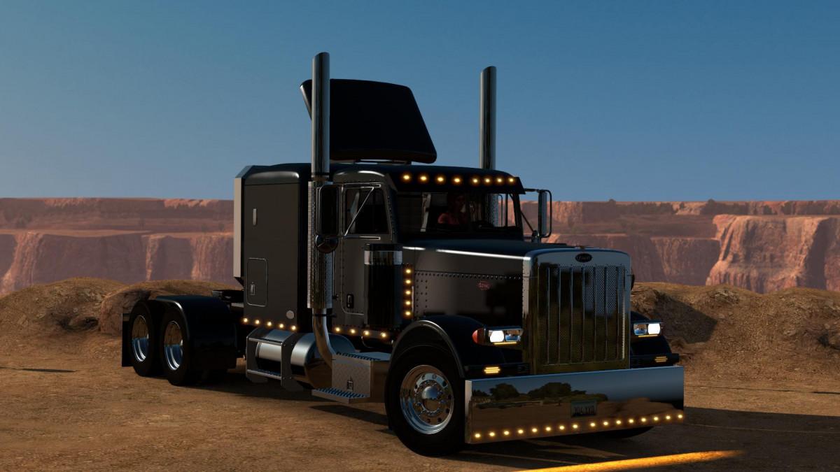 Peterbilt Modified v 2 2 1 ATS 1 32 x   American Truck Simulator mods