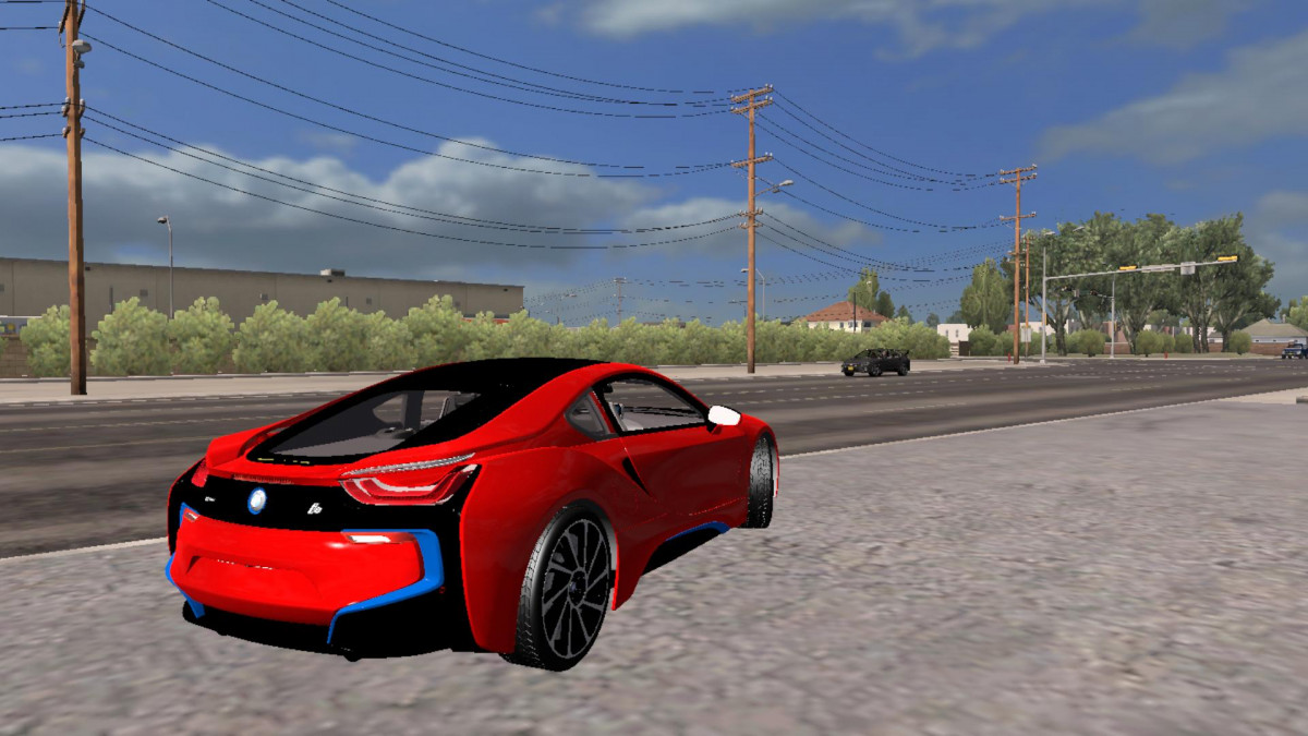 Bmw I8 Version 26 10 18 American Truck Simulator Mods
