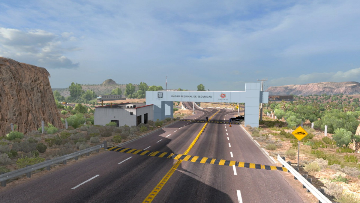 Mexico Extremo Map v 2 0 5 | American Truck Simulator mods
