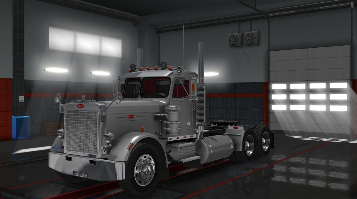 Peterbilt 359 v 1 0 [1 32 x] | American Truck Simulator mods