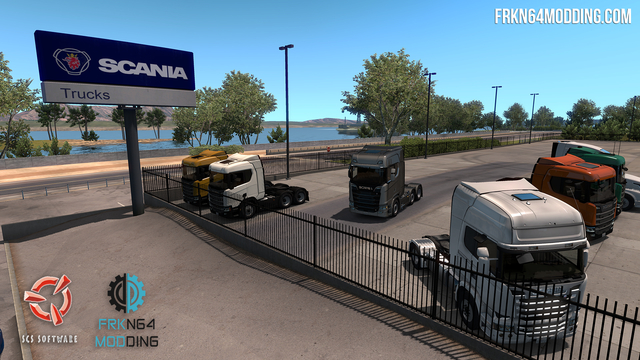 Scania Trucks Mod v 2 0 for ATS – by Frkn64 | American Truck