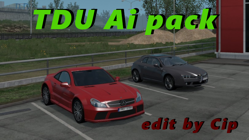 TDU Traffic Pack ATS 1 33 edit by Cip + Sounds (v 1 1) | American