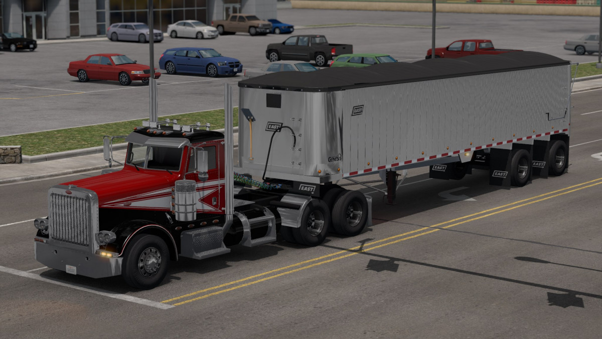 East Genesis Ownable Edition Trailer | American Truck Simulator mods