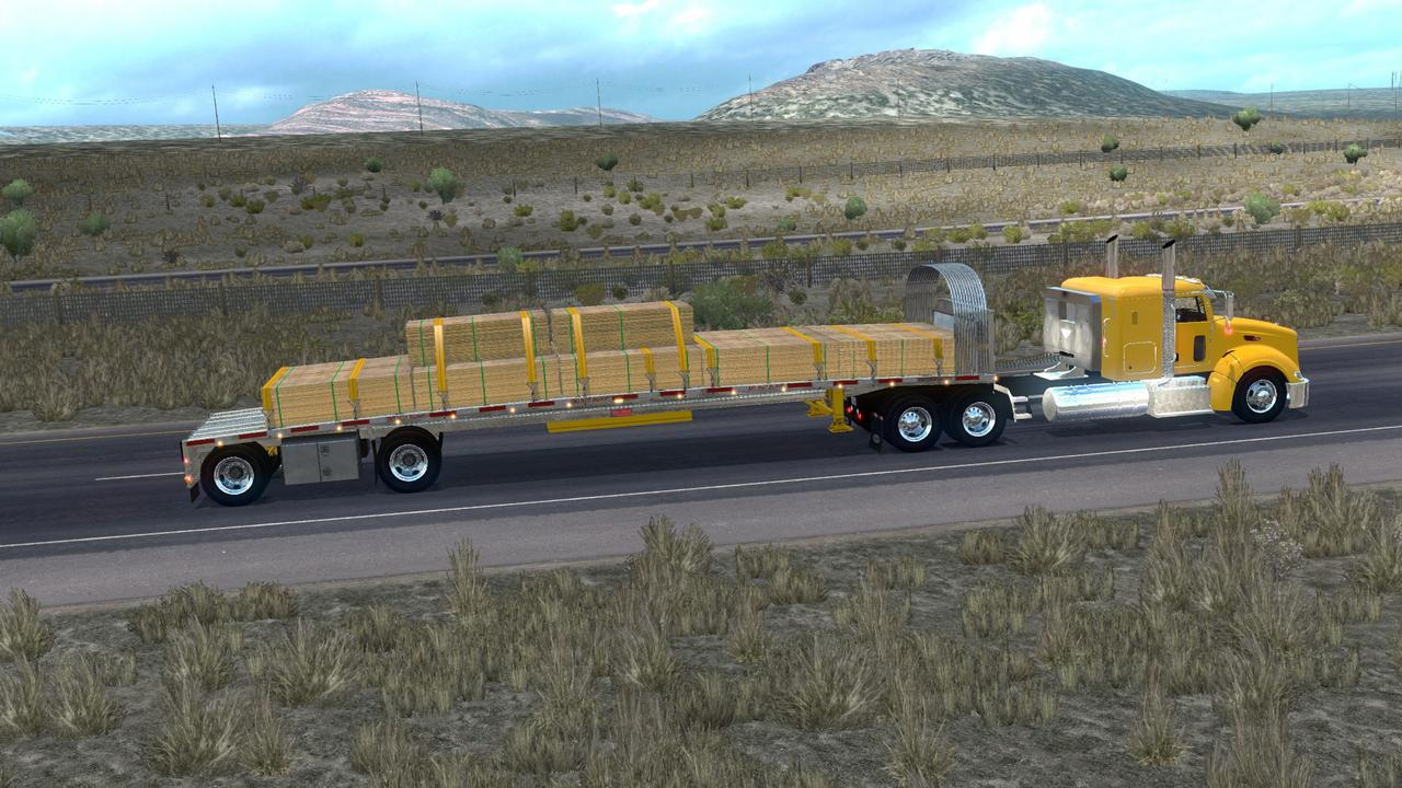Dro Reitnouer Maxmiser Ownable Trailer | American Truck Simulator mods