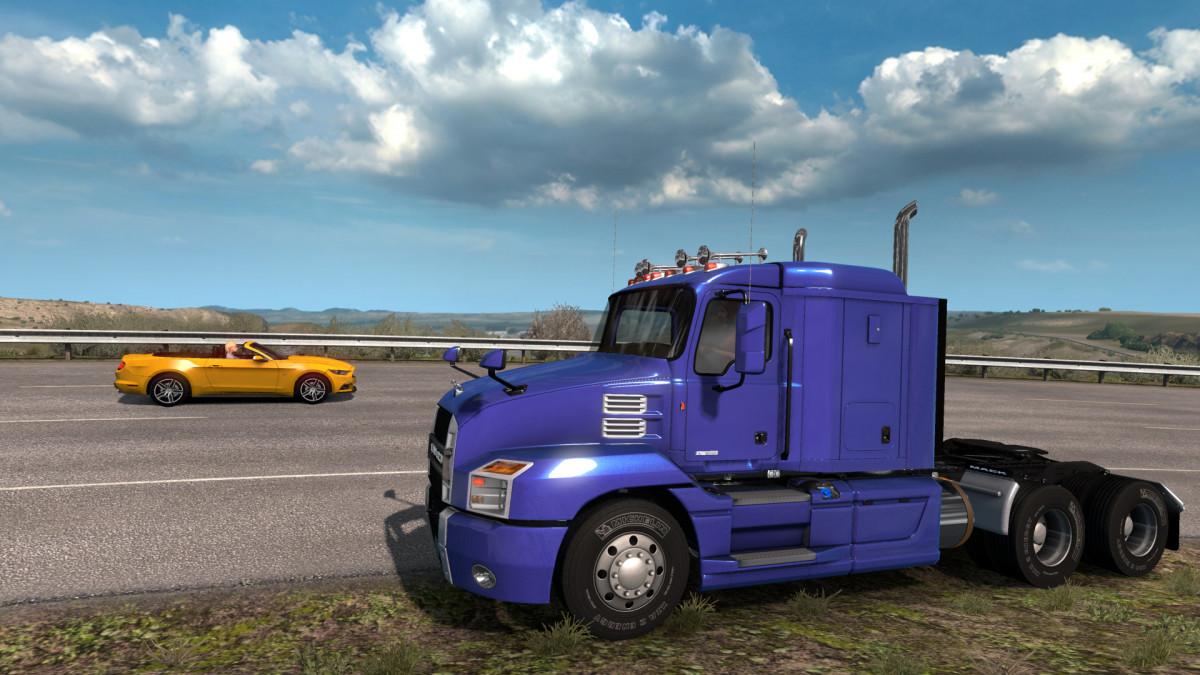 Coast to Coast v 2 7 | American Truck Simulator mods