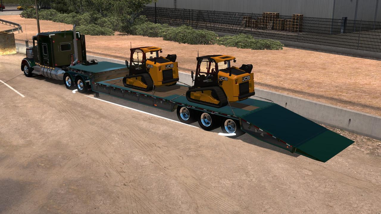 TrailKing Dovetail Ownable Trailer | American Truck Simulator mods