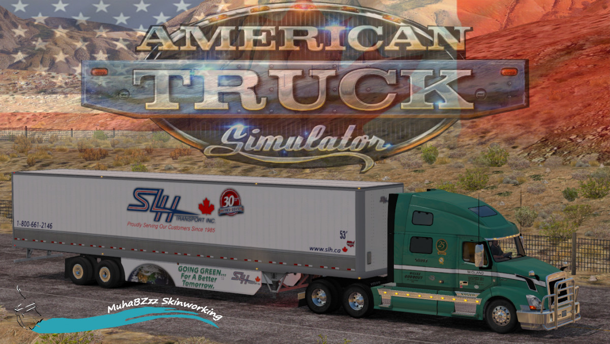 50 Skin Pack SCS Volvo VNL By MuhaBZzz | American Truck