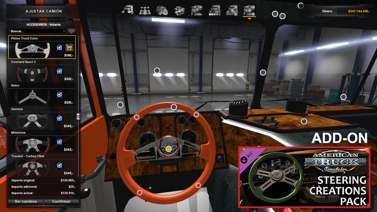Interiors | American Truck Simulator mods