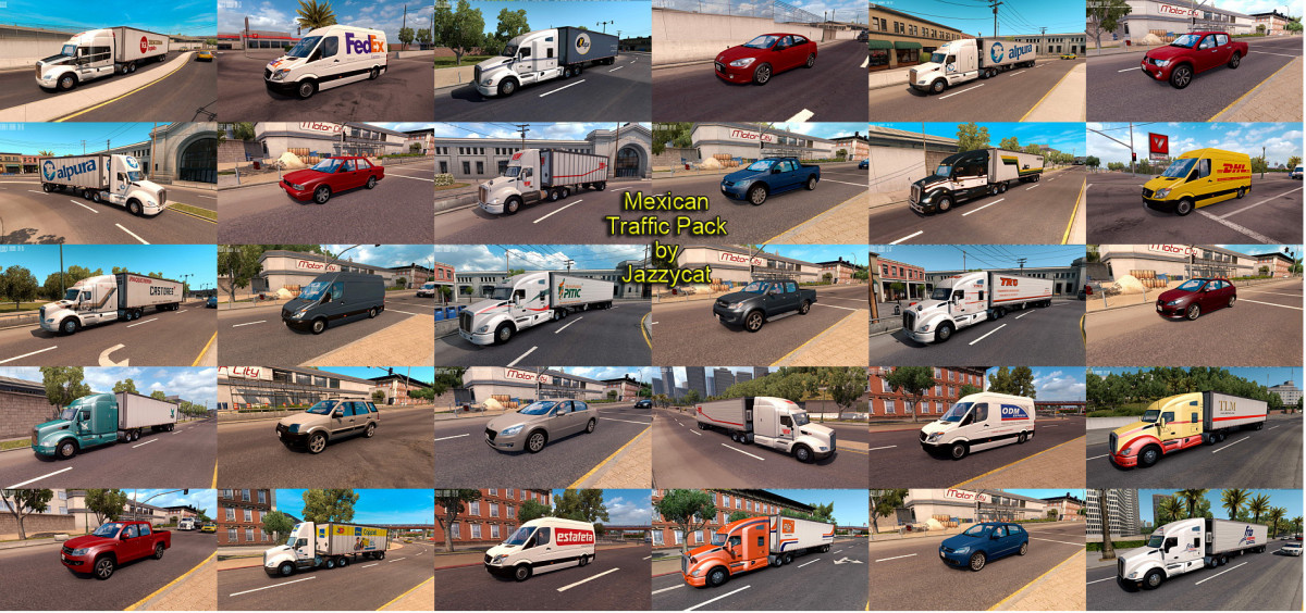 MERCEDES   American Truck Simulator mods - Part 6