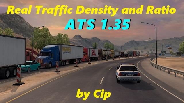 Real Traffic Density and Ratio ATS 1 35 c | American Truck Simulator