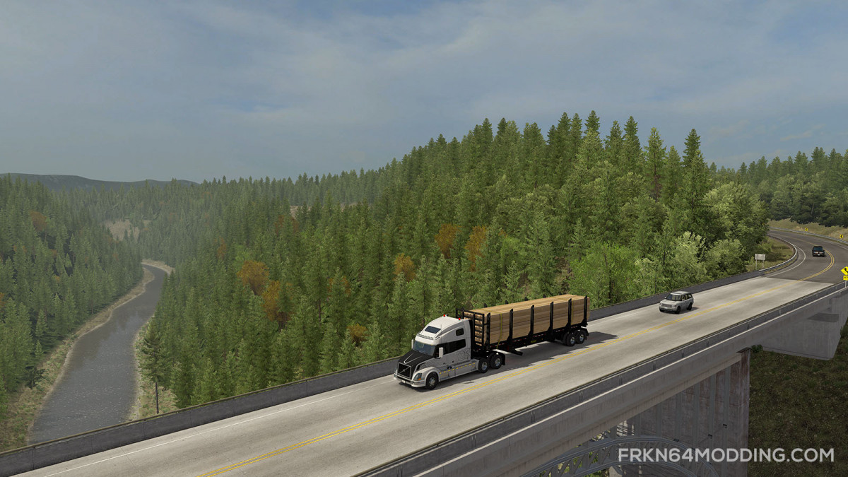 Realistic Graphics Mod v 3 0 – by Frkn64 | American Truck Simulator mods