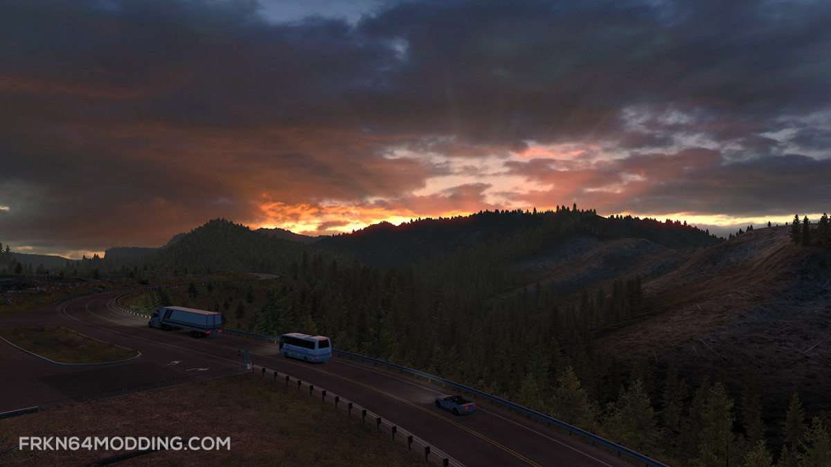 Realistic Graphics Mod v 3 0 – by Frkn64 | American Truck