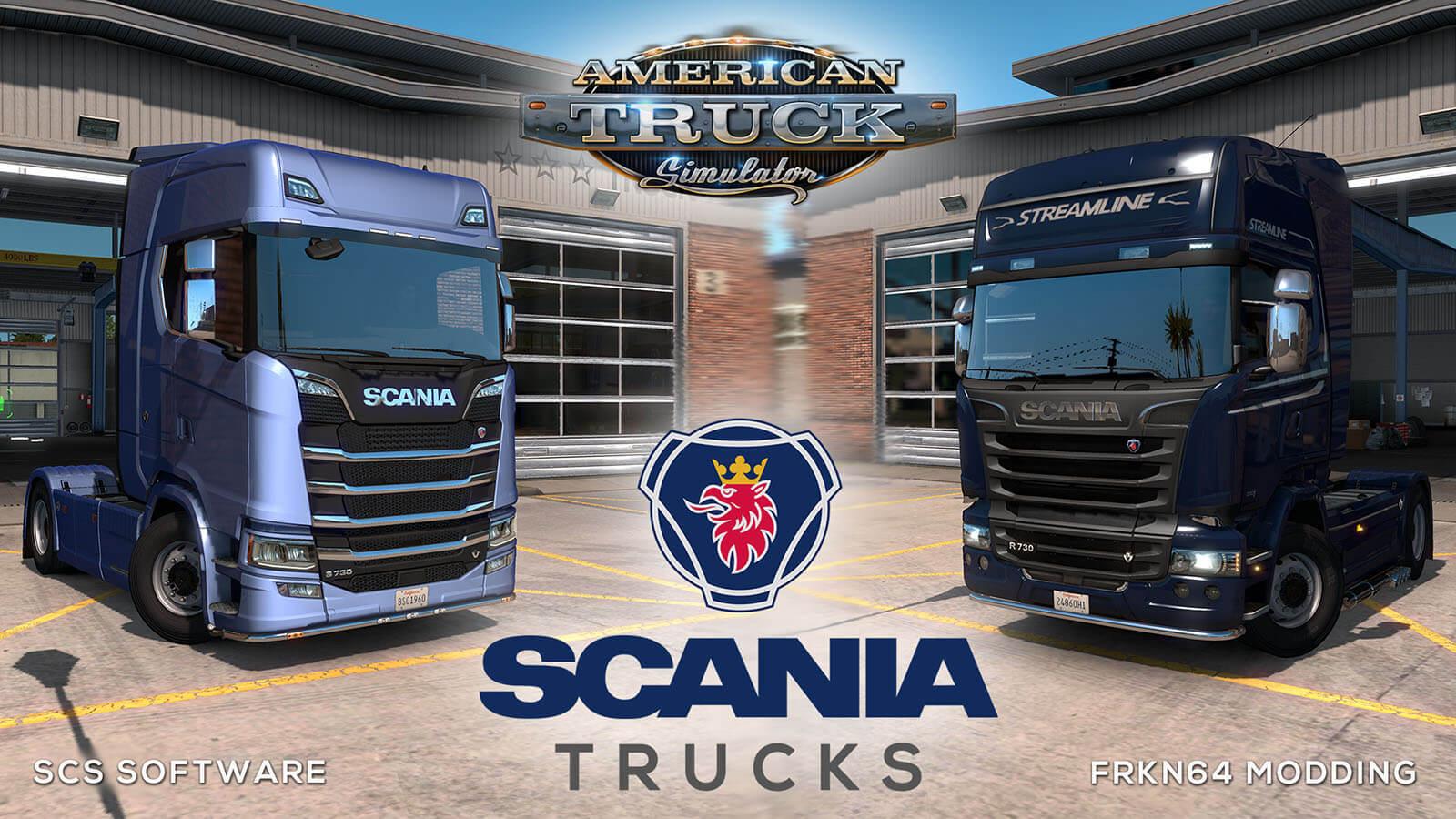scania | American Truck Simulator mods
