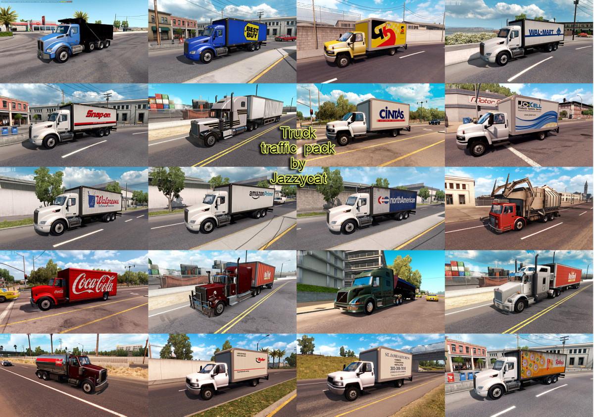 AI traffic mods   American Truck Simulator mods - Part 13