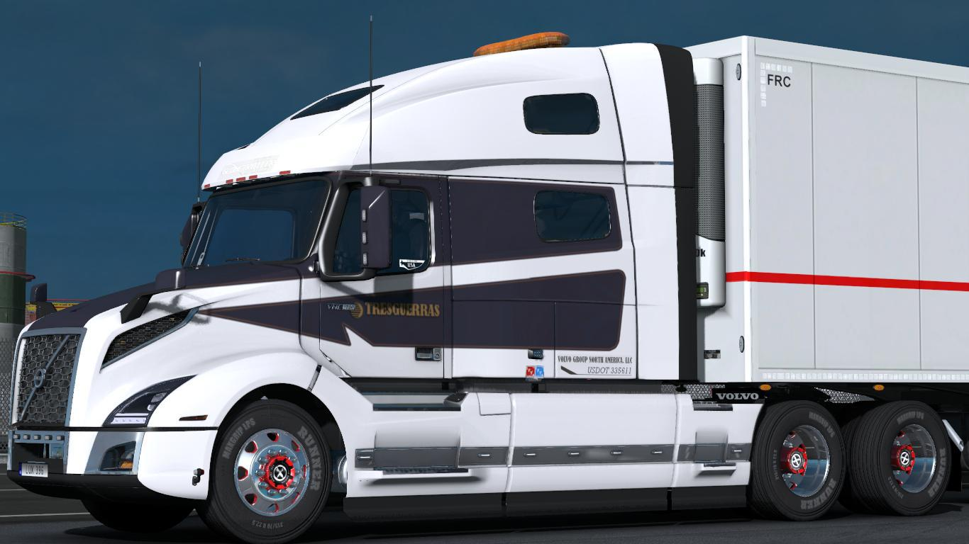 Volvo Vnl 2019 V 2 18 1 35 X American Truck Simulator Mods