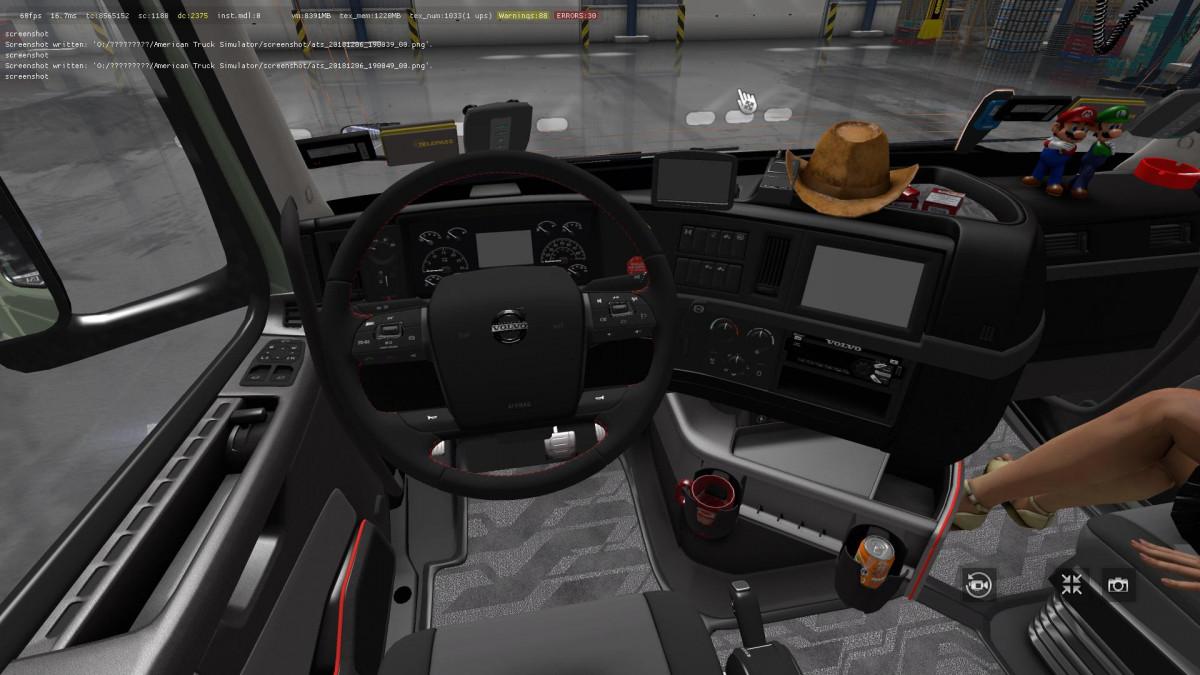 volvo vnl | American Truck Simulator mods