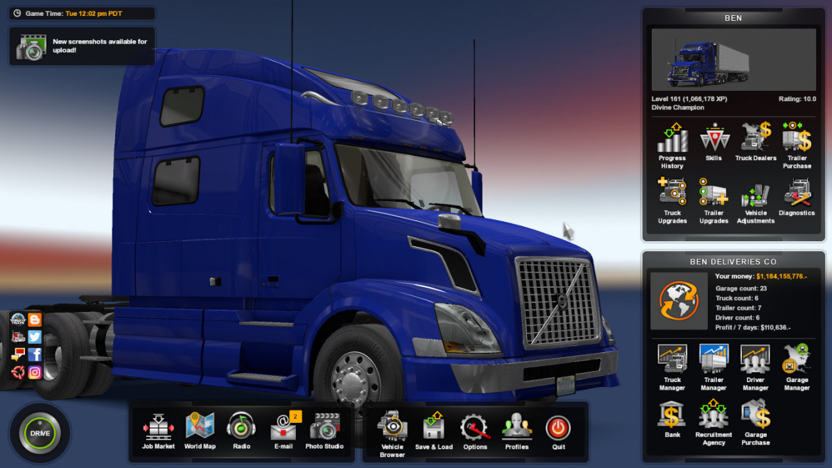 Save | American Truck Simulator mods