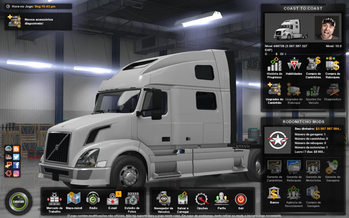 coast to coast | American Truck Simulator mods