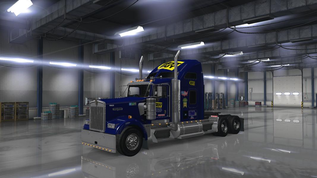 kenworth w900   American Truck Simulator mods