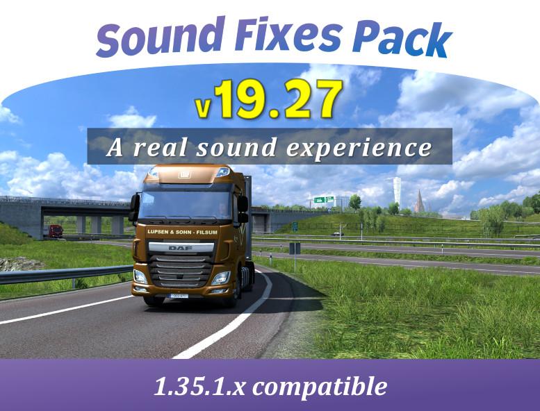 Sound fixes pack | American Truck Simulator mods