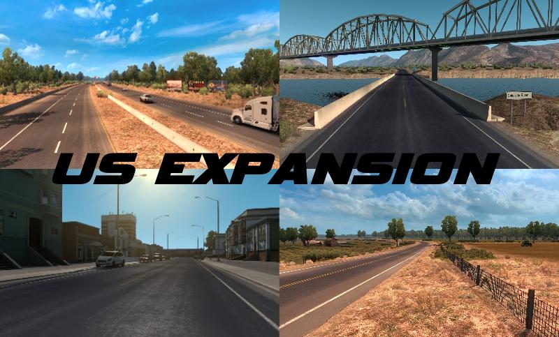 Maps   American Truck Simulator mods