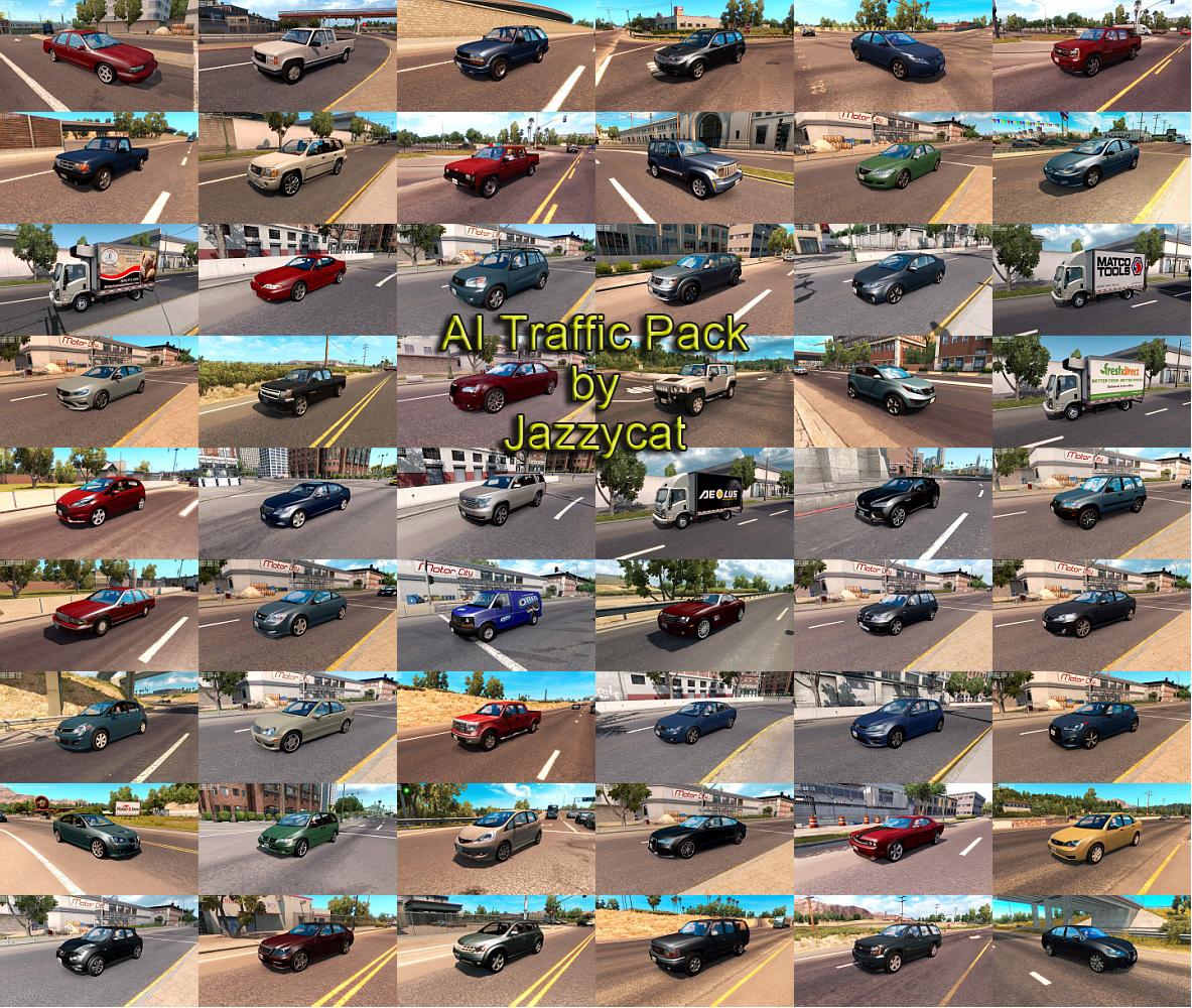 AI traffic mods | American Truck Simulator mods