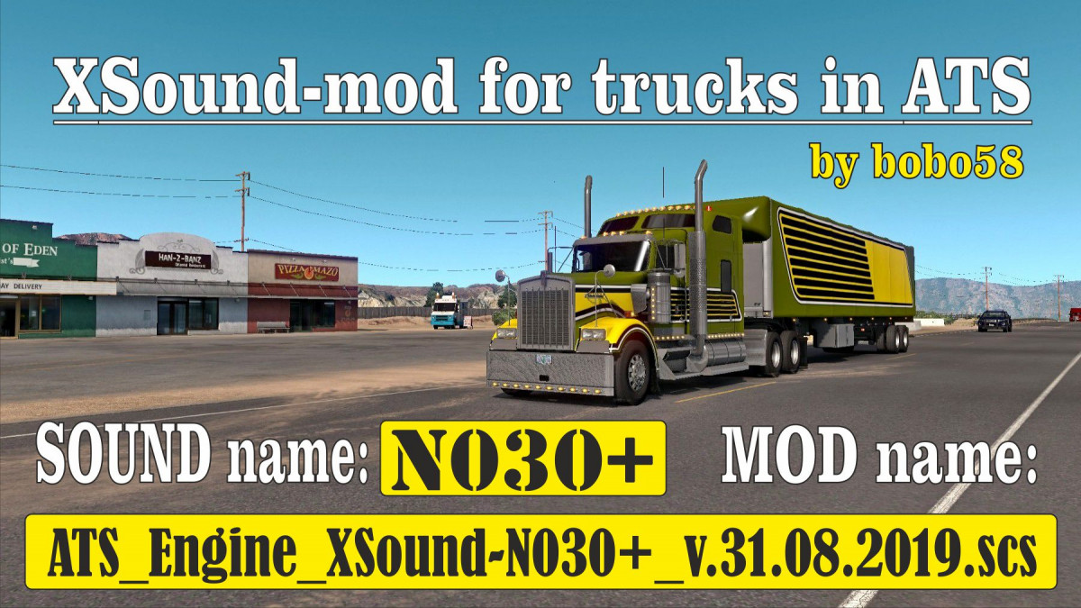 Sounds | American Truck Simulator mods