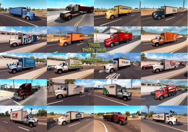AI traffic mods   American Truck Simulator mods