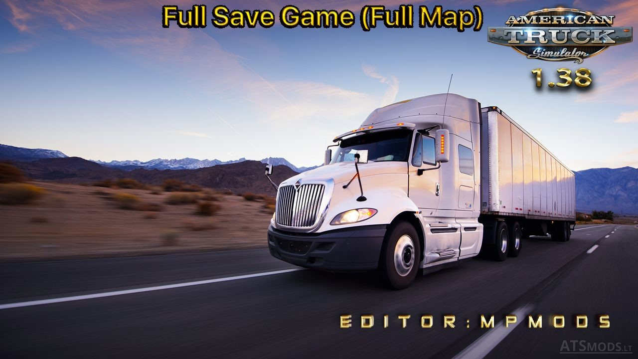 Save American Truck Simulator Mods